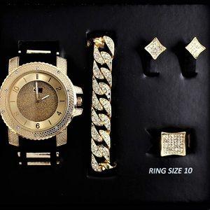 Watch & Jewelry set